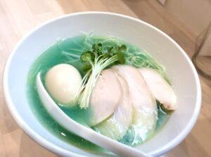 голубой суп