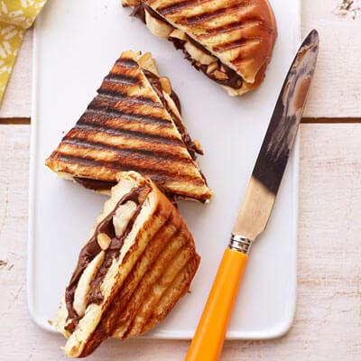 нутелла бутерброд