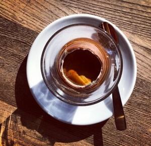 кофе в яйце