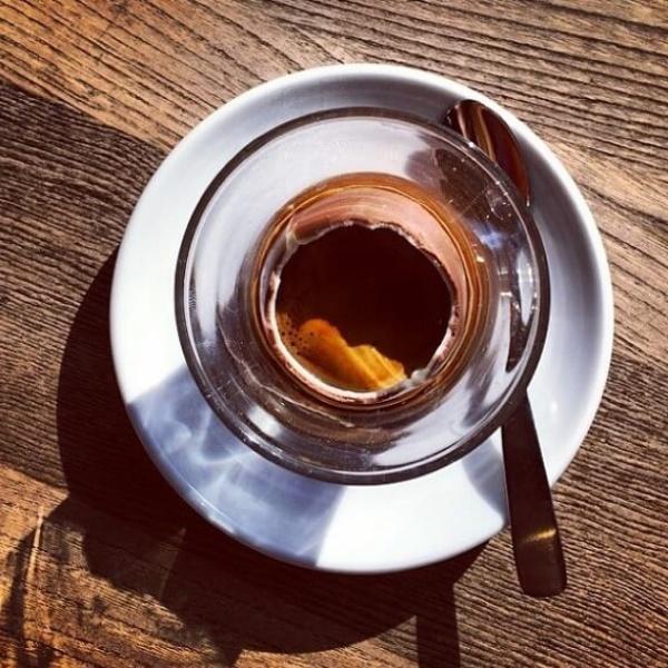 Кофе в шоколадном яйце