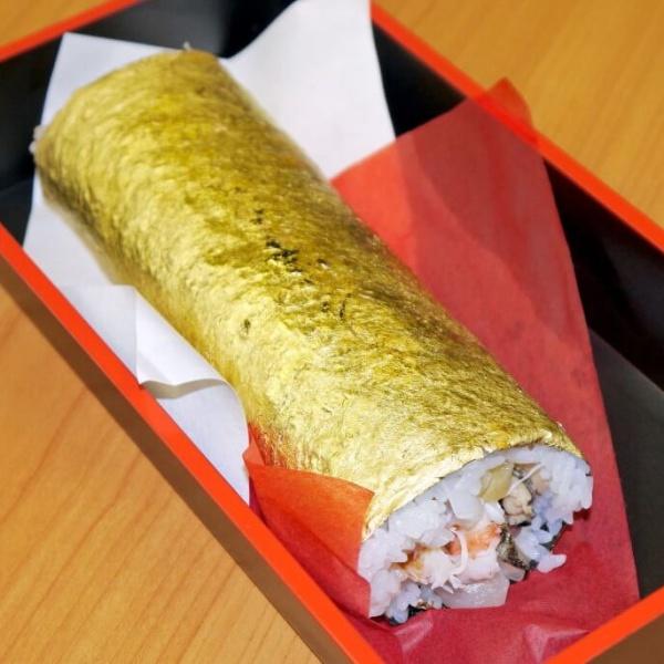 Золотой суши ролл